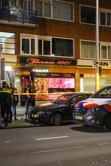 Sauna aan Schieweg meerdere keren beschoten