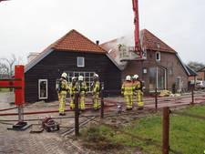 Brand in buitengebied snel onder controle
