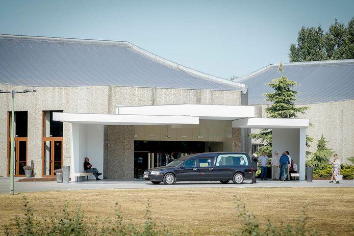 Het crematorium Westlede in Lochristi.