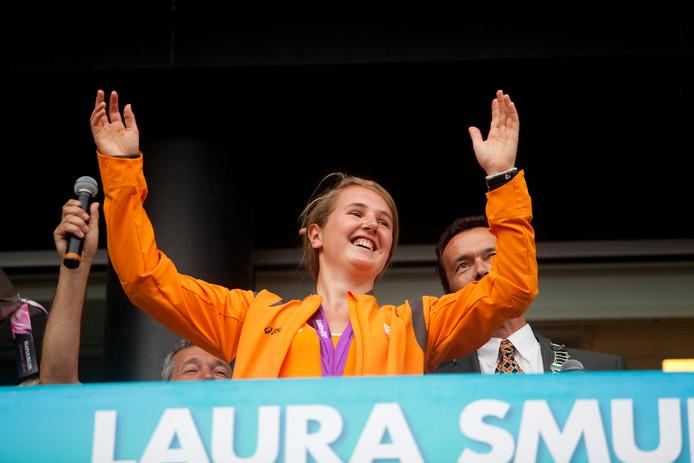 Laura Smulders op archiefbeeld