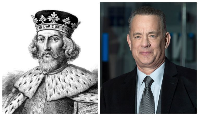 Koning John en Tom Hanks
