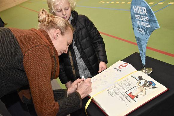 Ann Wauters tekende het gulden boek
