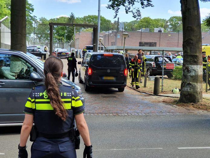 Consternatie bij jeugdgevangenis Den Hey-Acker in Breda.