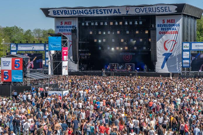 Het Bevrijdingsfestival in Zwolle trok ruim 140.000 bezoekers.