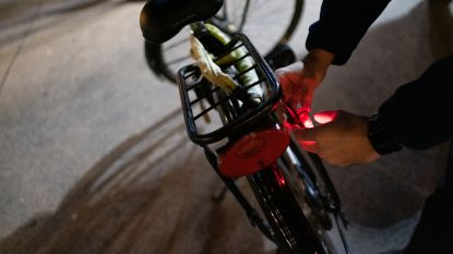 7 fietsers op de bon bij controle