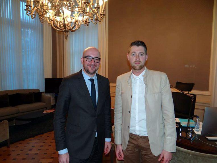 Met Charles Michel.
