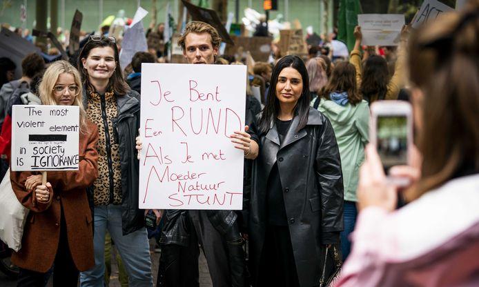 In Den Haag kwamen 25.000 mensen op straat.