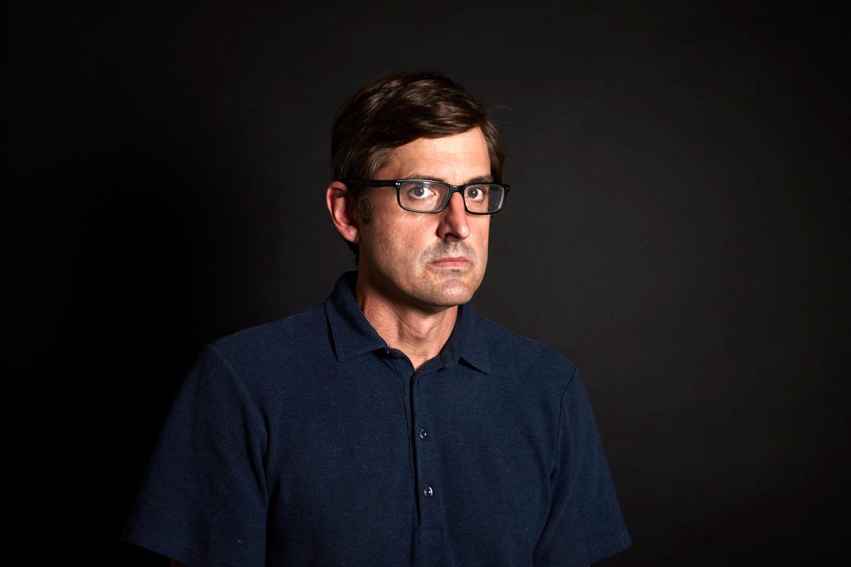 Louis Theroux: 'Tijdens mijn eerste tv-opdracht had ik niet in mijn broek geplast en was ik niet in huilen uitgebarsten. Dat was al beter dan verwacht.'  Beeld BBC/Richard Ansett