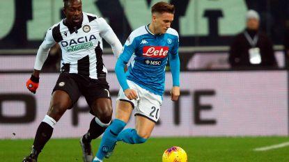 Napoli kan weer niet winnen, Mertens en co geraken niet voorbij Udinese