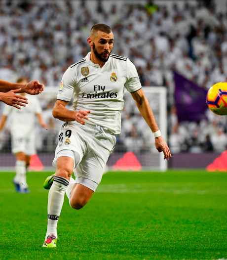 Benzema bezorgt Real Madrid nipte zege
