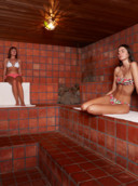 Le sauna Terracotta.