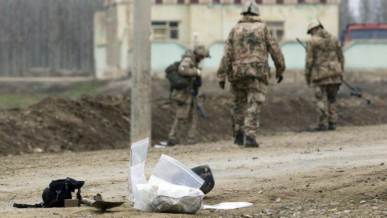 Soldaten in Kunduz. Beeld reuters