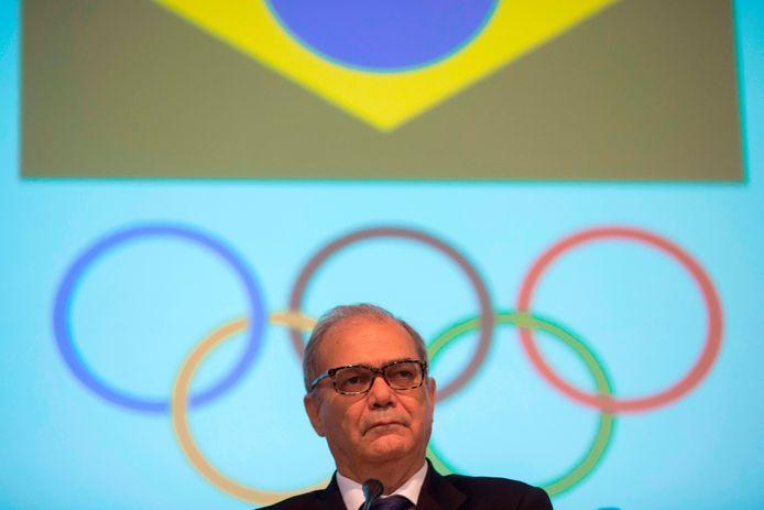 Paulo Wanderley, president van het Braziliaans Olympisch Committee.