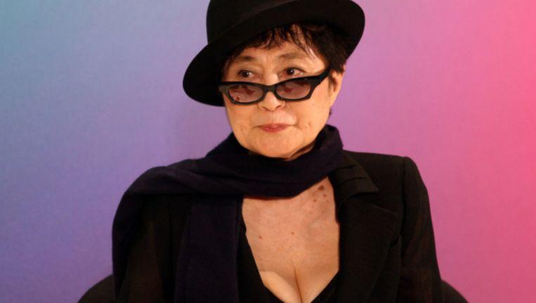 Yoko Ono is één van de artiesten betrokken bij het album. Beeld getty