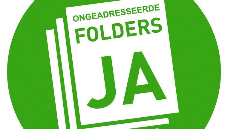 De ja-sticker van MailDB Beeld