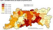 Laagste inkomens wonen in Diest en Tienen