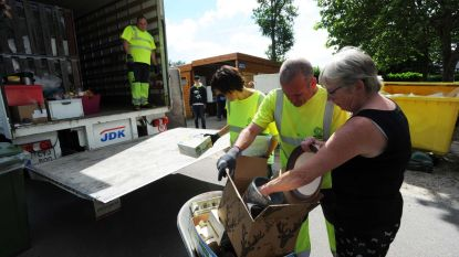 Mobiel recyclagepark houdt halt op twee plaatsen