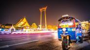 Belg reist van Thailand naar België per tuktuk