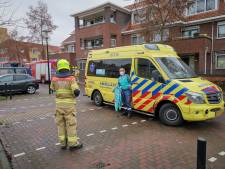 Appartementencomplex Ede ontruimd vanwege brandende auto in parkeergarage