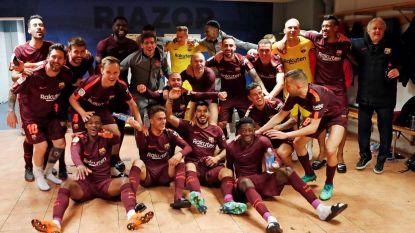 Ongeslagen Barça pakt 25ste titel