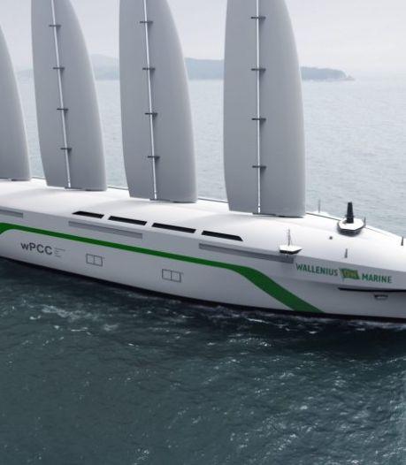"""Une entreprise suédoise construit un cargo propulsé par le vent: """"90% d'émissions en moins"""""""