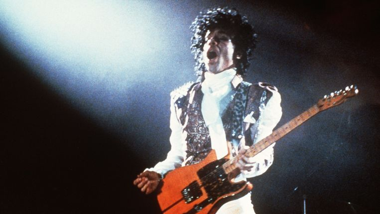 Prince in 1985 Beeld null