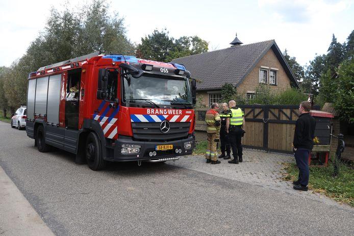 Brand in de Brandstraat in Oss.