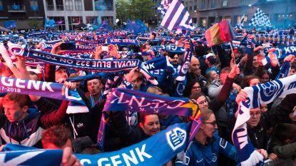 VIDEO. Duizenden Genk-supporters zorgen voor tweede dag op rij voor een spetterend kampioenenfeest