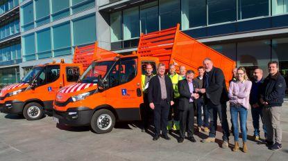 Gemeente koopt twee milieuvriendelijkere vrachtwagens aan