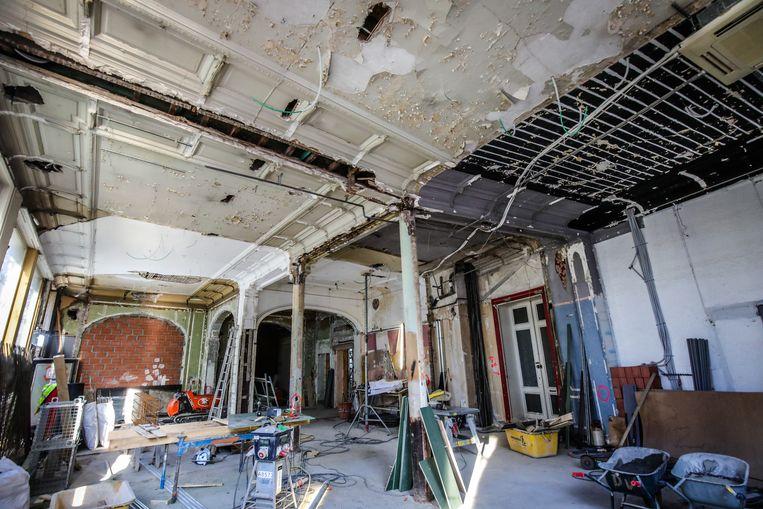 Oostende Ensormuseum in opbouw: de inkom