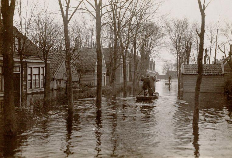 Meerpad, 1916.  Beeld Stadsarchief