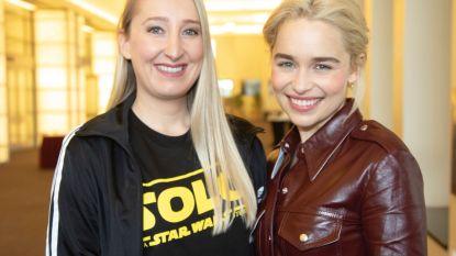 """Onze vrouw in Hollywood sprak met 'Game of Thrones'-ster Emilia Clarcke: """"Na deze 'Star Wars'-film eens géén blockbuster meer graag"""""""