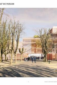 'Een geslaagd ontwerp, feestelijk en chique', veel lof van kenners voor nieuwe theater Den Bosch