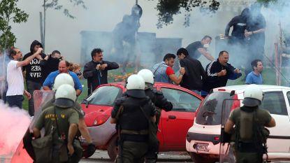 Grieks protest tegen naamwijziging Macedonië loopt uit de hand