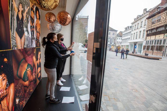 De Hasseltse handelaars maken zich klaar voor de opening van hun 'niet-essentiële' winkels.