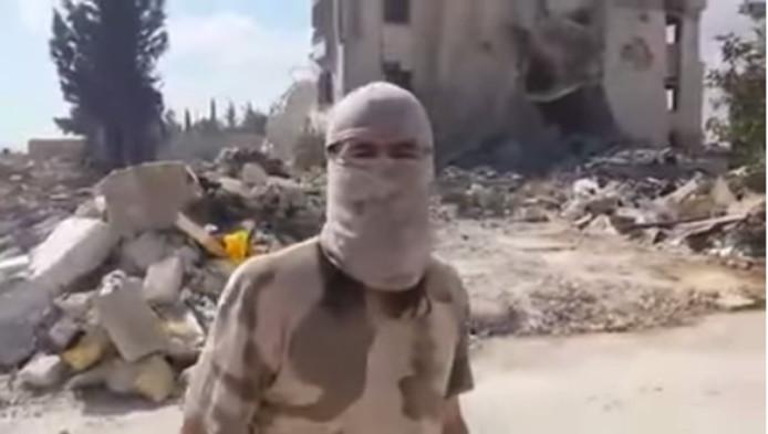 Nederlandse jihadist Abdelkarim el Atrach, bekend onder zijn strijdnaam Abu Muhammad al-Hollandi