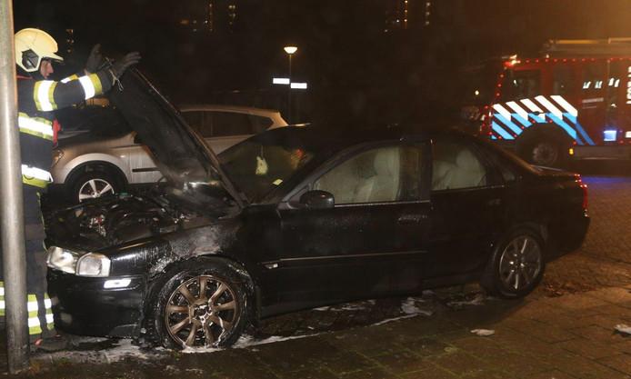 Autobrand in Den Bosch