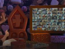 Sint meldt zich in Zoetermeer via beeldscherm, zonder pieten