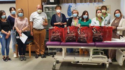 Rotary Sint-Pieters-Leeuw trakteert zorgverleners op lekkers