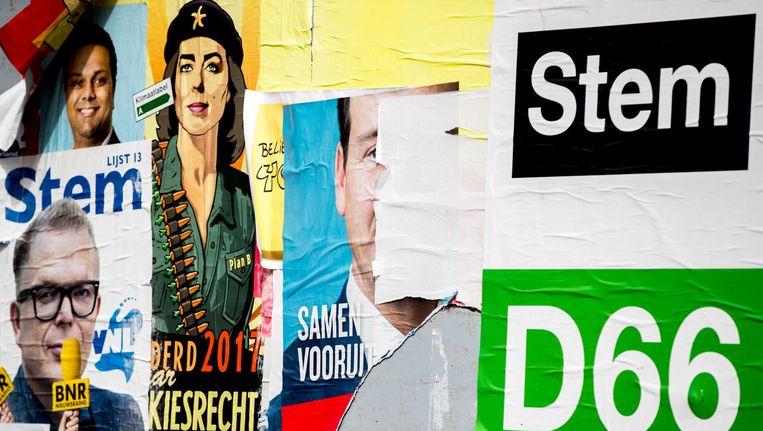 De PvdA heeft bij de Tweede Kamerverkiezing in Rotterdam een historische nederlaag geleden. De nieuwe partij DENK haalde er meer stemmen. Beeld anp