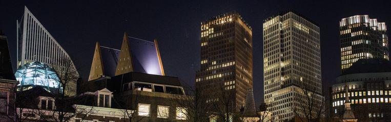 De afkorting VVD had bij de laatste verkiezingen best kunnen staan voor Volkspartij voor Veiligheid en Democratie. Beeld null