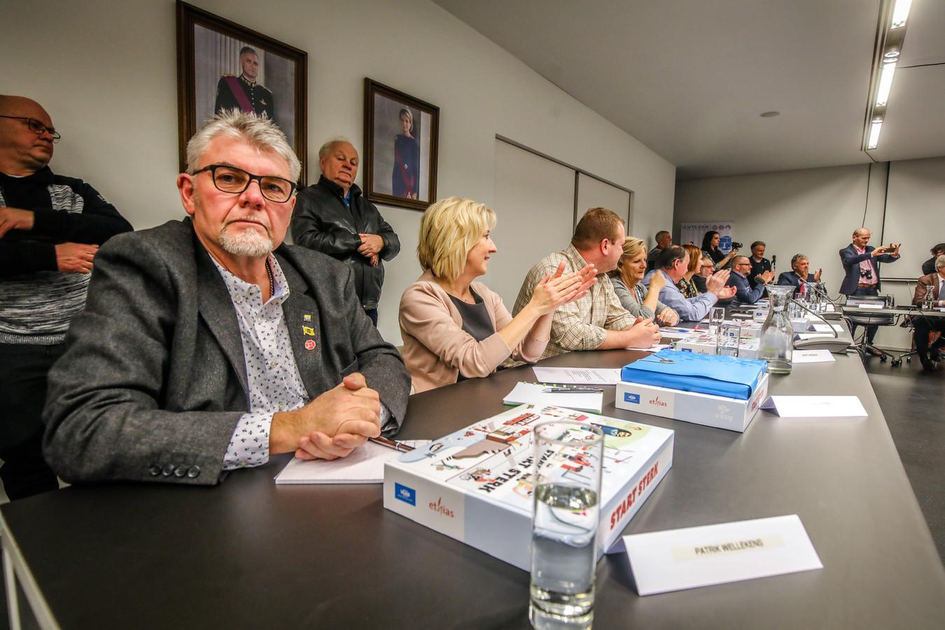 Patrik Wellekens, raadslid voor Vlaams Belang in Ichtegem, verklaart het succes van de partij