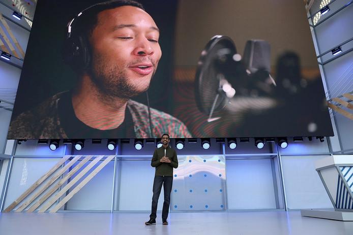 Voor de Engelse Google Assistant kun je binnenkort de stem van John Legend kiezen.