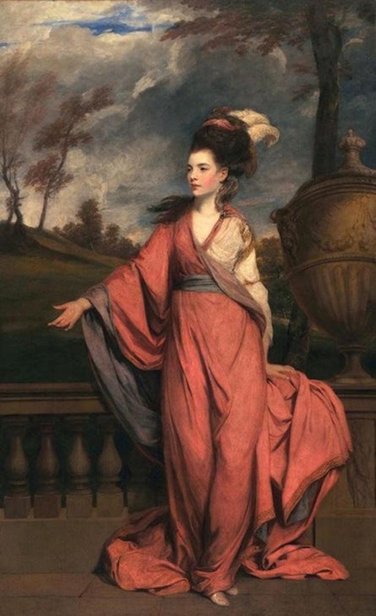 Jane Fleming van Joshua Reynolds Beeld x