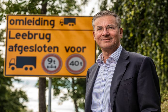 Maxime Verhagen, voorzitter van Bouwend Nederland.