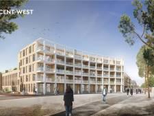 Zo moeten de nieuwe woningen aan het Stationsplein in Apeldoorn eruit komen te zien