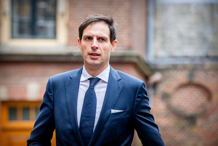 We waren al de vrekken van Europa. Dat werd onderstreept door minister Hoekstra. Beeld BSR Agency/ Patrick van Katwijk