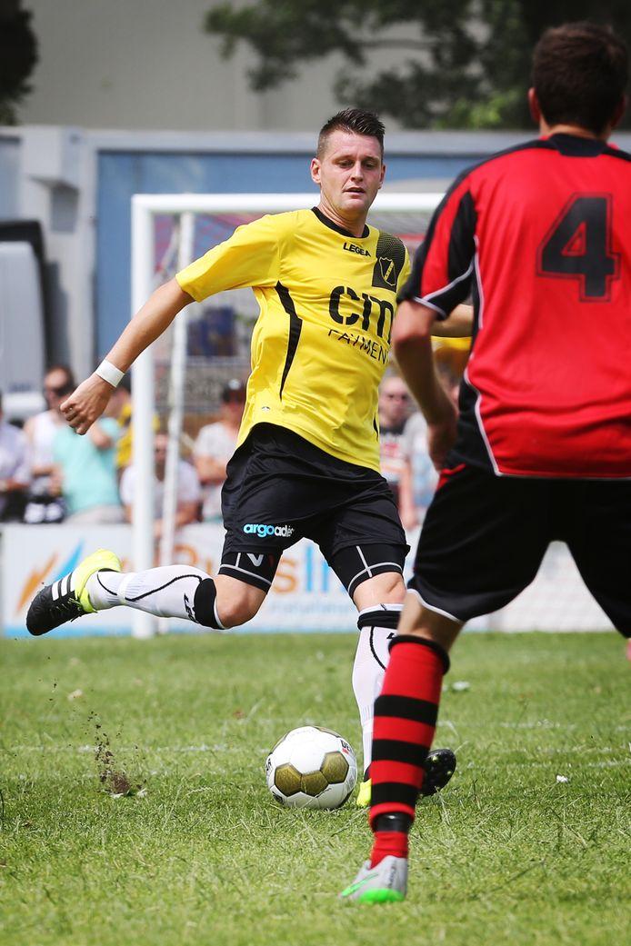 Michael Dingsdag in zijn tijd als speler van NAC.
