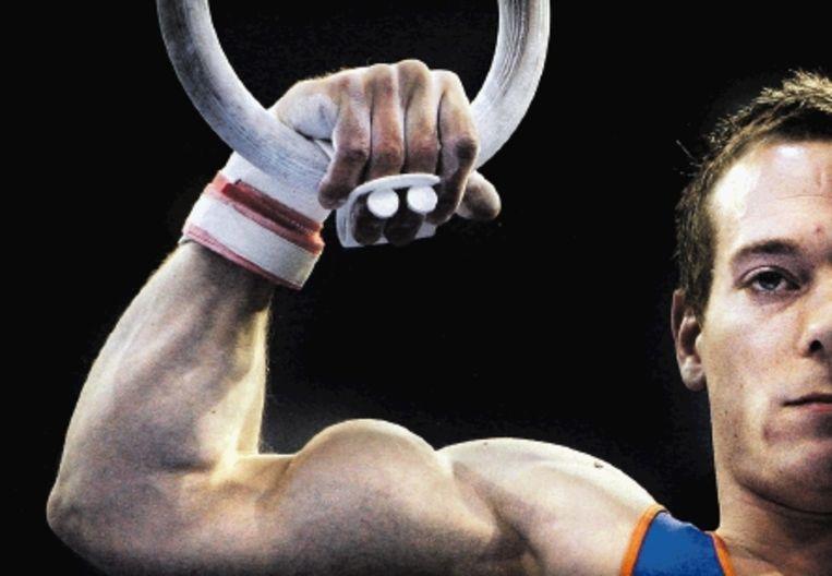 Deelname aan de Olympische Spelen van 2012 zit er voor Van Gelder niet meer in. (FOTO ROBIN UTRECHT, ANP) Beeld