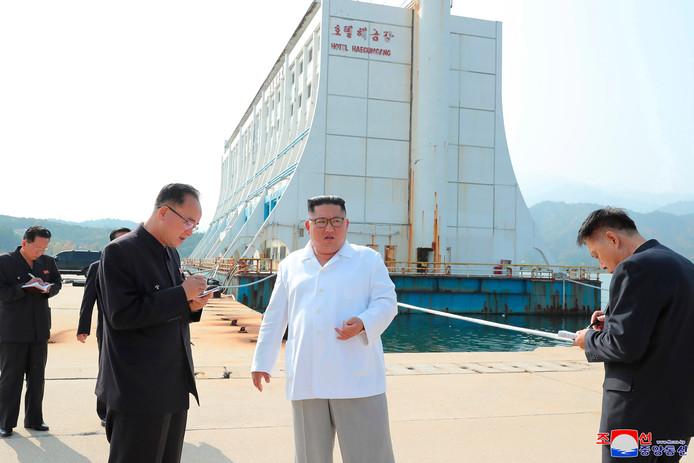Het Kumgangsan Hotel moest het boegbeeld worden van de hernieuwde relatie tussen Noord- en Zuid-Korea.